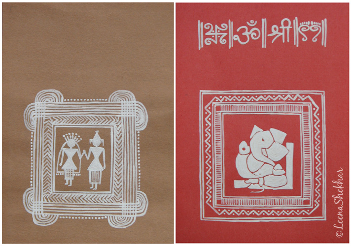 Warli Art Illustrations