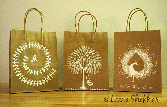 Handcrafted paper bags