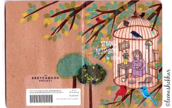 Sketchbook Project Cover
